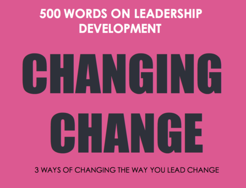 Changing Change (posted on Change-Leadership.net)